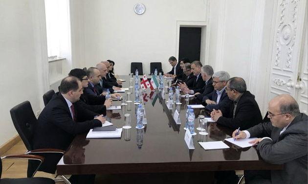 دیدار گروه دوستی پارلمانی ایران و گرجستان