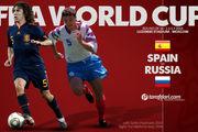 ترکیب اصلی تیم ملی فوتبال اسپانیا و روسیه مشخص شد