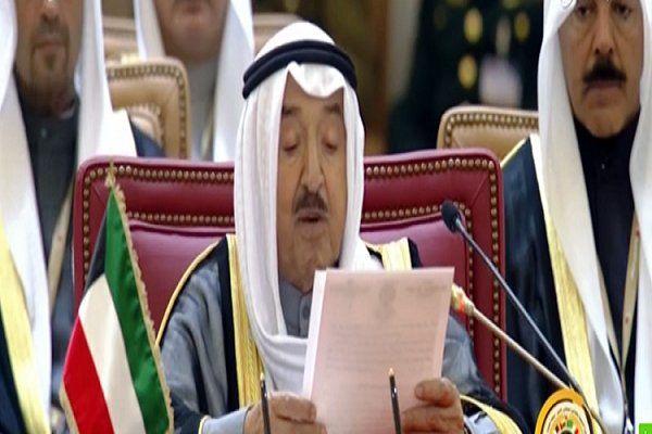 امیر کویت خواستار تداوم گفتگوها با ایران شد