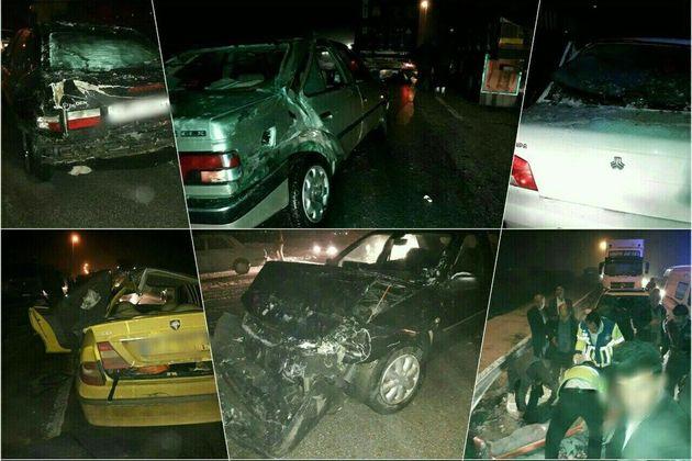 ۴۲ درصد قربانیان تصادفات رانندگی لرستان در بیمارستان فوت میکنند