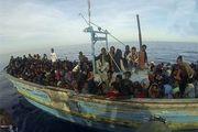 واژگونی مرگبار قایق پناهجویان در مدیترانه