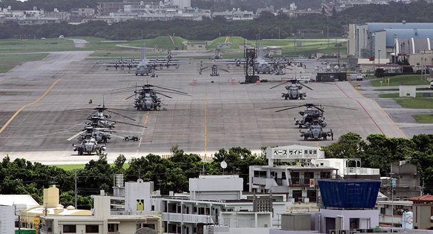 نخست وزیر ژاپن از انتقال پایگاه نظامی آمریکایی خبر داد