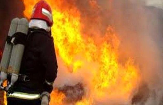 پتروشیمی آبادان آتش گرفت