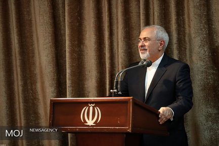 ظریف/ دیدار وزیر و مسئولان وزارت امور خارجه با مقام معظم رهبری