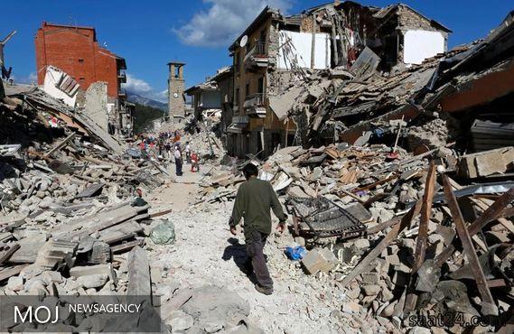 شمار قربانیان زلزله ایتالیا به ۲۴۷ تن رسید
