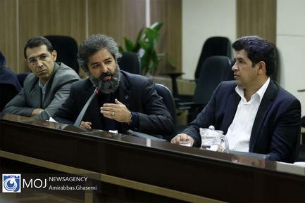 نشست خبری وزیر پیشنهادی وزارت میراث فرهنگی، صنایع دستی و گردشگری