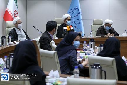 نشست خبری هجدهمین سالگرد بنیانگذاری شوراهای حل اختلاف