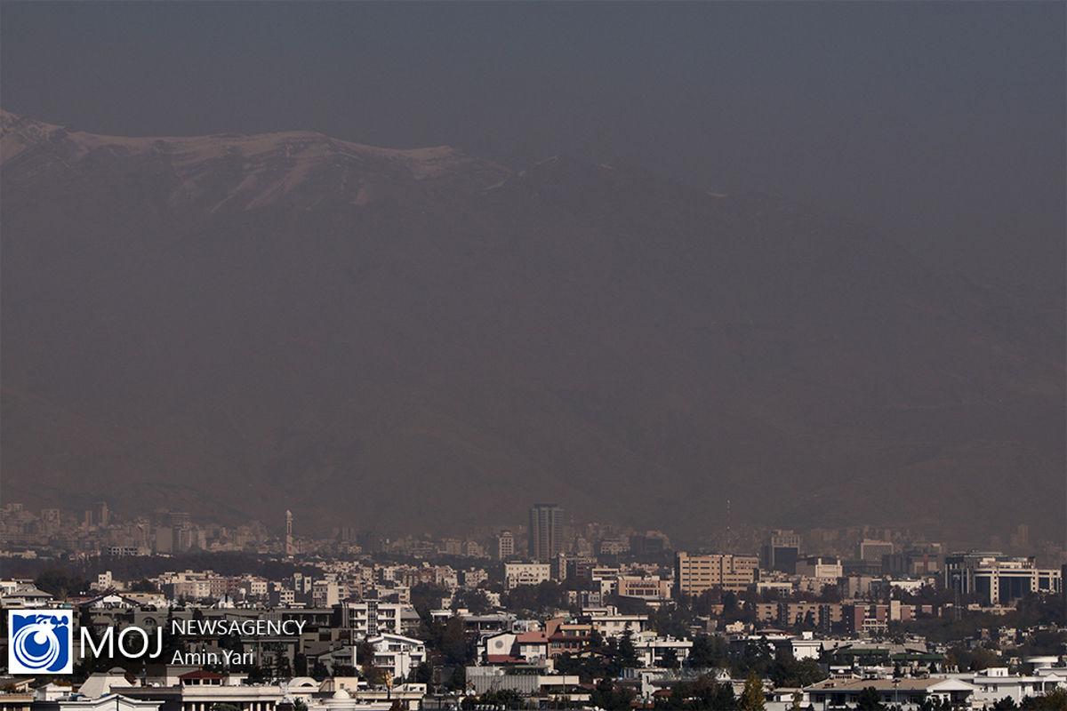 کیفیت هوای تهران ۳ دی ۹۹/ شاخص کیفیت هوا به ۱۴۳ رسید