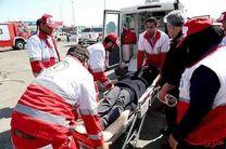 امدادرسانی هلال احمر استان اصفهان به 256حادثه دیده در هفته گذشته