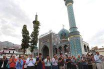 اقامه نماز عید سعید فطر در 3 امامزاده شهرستان خمینی شهر