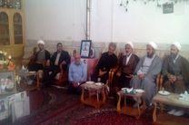 دیدار مدیرکل اوقاف استان اصفهان از خانواده شهید مدافع حرم شهید حججی