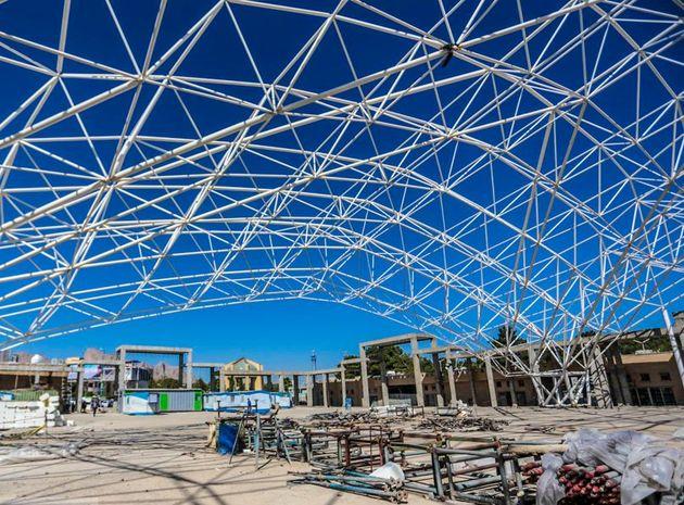 پیشرفت ۹۹ درصدی پروژه سالن گلستان شهدا در اصفهان