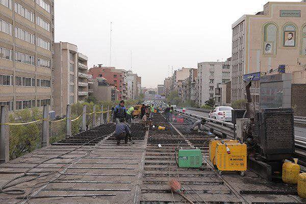 مسیر شرق به غرب پل کریمخان از هفته آینده آماده می شود