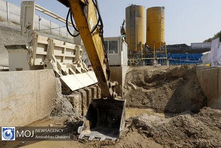 آغاز پروژه هدایت آبهای سطحی محدوده بزرگراه فتح