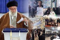 گزارش زنده از انتخابات مجلس/ حضور گسترده مردم در شعب اخذ رای