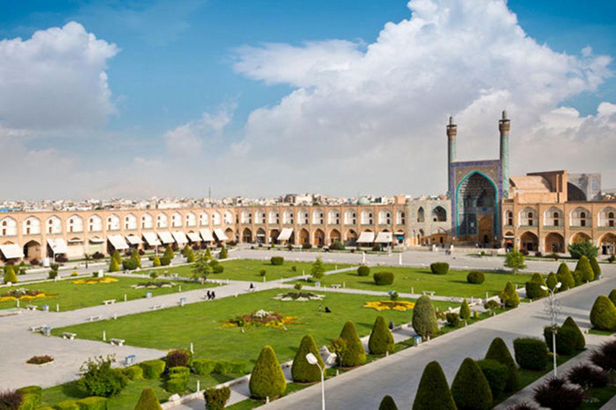 کیفیت هوای اصفهان سالم است