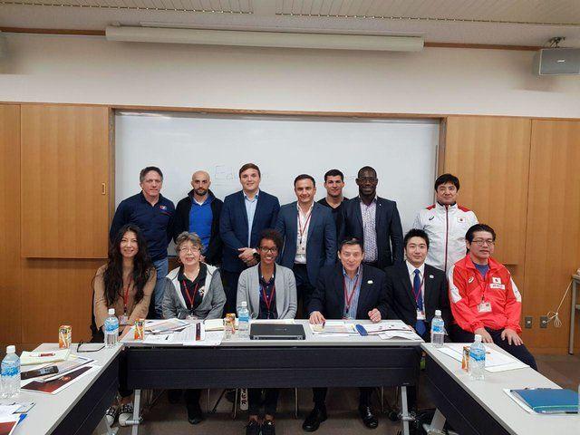 جلسه کمیسیون مربیان اتحادیه جهانی کشتی برگزار شد