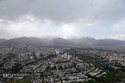 کیفیت هوای تهران ۱۲ اردیبهشت ۱۴۰۰/شاخص کیفیت هوا به ۵۶ رسید