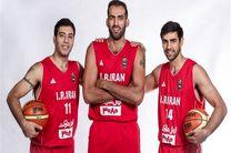 ۳ بسکتبالیست ۲۱۸ سانتیمتری در کاپ آسیا