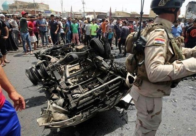 انفجار خودروی بمبگذاری شده در شمال غرب بغداد