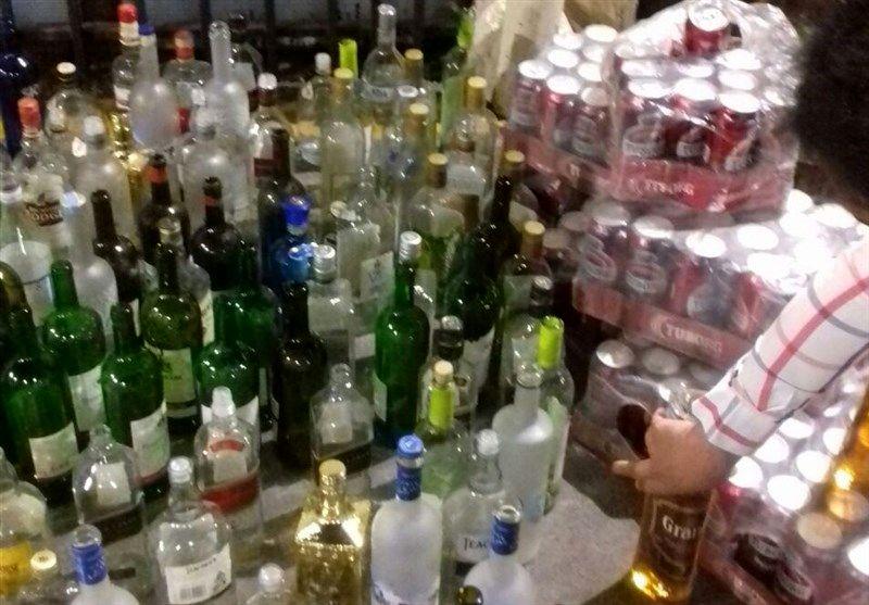 کشف یک هزار و 968 قوطی مشروبات الکلی در میناب