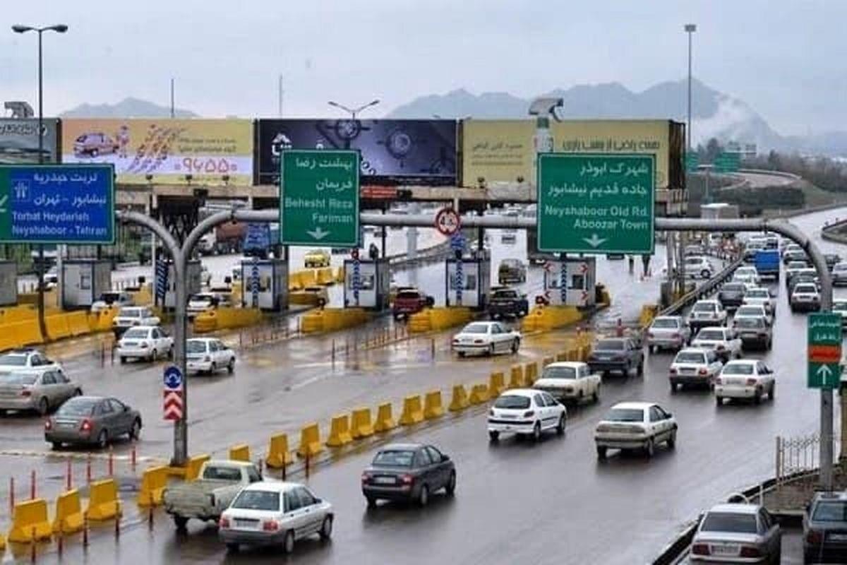 احتمال ترافیک سنگین در برخی جاده های کشور