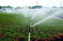 اجرای طرح آبیاری نوین در 500 هکتار باغات در تیران و کرون