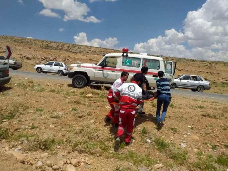 45 عملیات امدادی توسط نجاتگران هلالاحمر به حادثه دیدگان در اصفهان