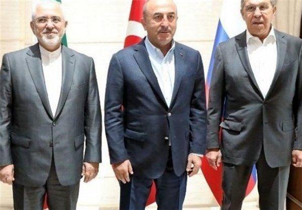 برنامه ظریف برای رایزنی با همتایان روسی و ترکیه ای خود
