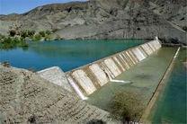 آبگیری سازه های آبخیزداری در قشم