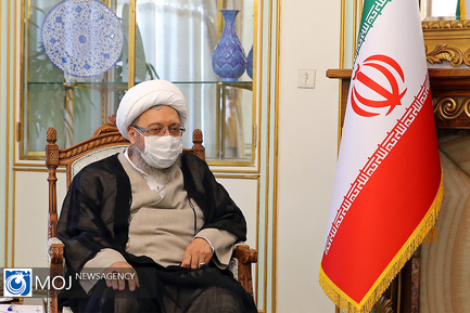 دیدار روسای مجمع تشخیص مصلحت نظام و قوه قضاییه