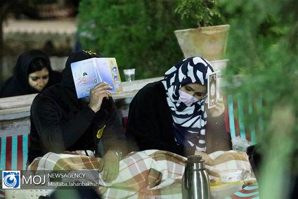 احیای شب بیست و یکم ماه رمضان در گلستان شهدای اصفهان