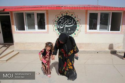 آغاز سال تحصیلی در روستاهای سرپلذهاب