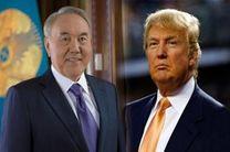 دعوت از رییس جمهور قزاقستان برای حضور در آمریکا
