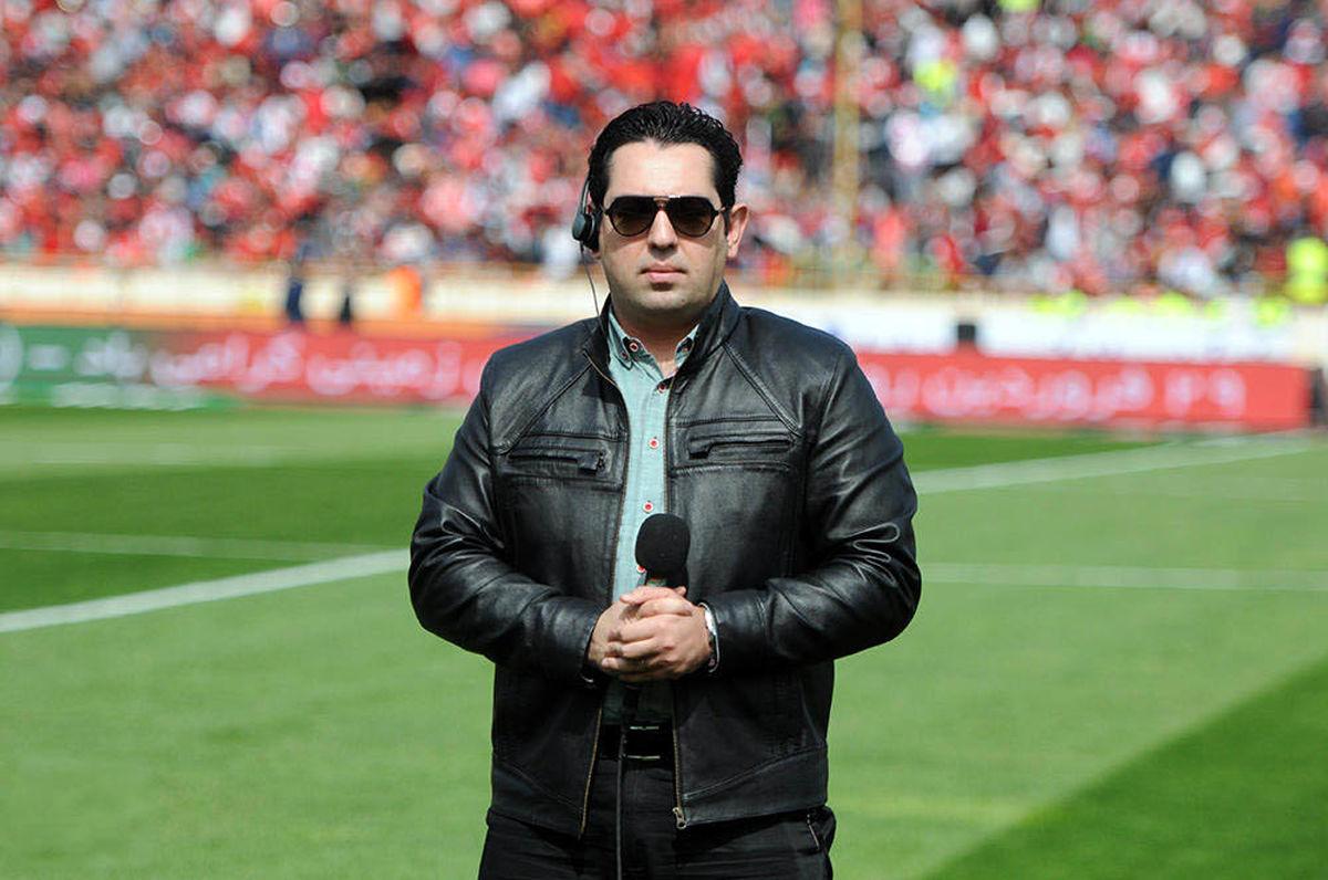 محمدرضا احمدی گزارشگر فوتبال ایران و بحرین شد