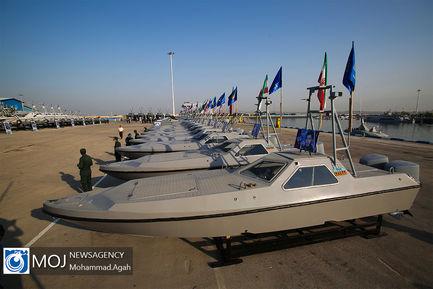 الحاق شناورهای تندرو رزمی به نیروی دریایی سپاه