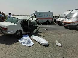 درجاده های کردستان هر روز یک تصادف مرگبار رخ می دهد