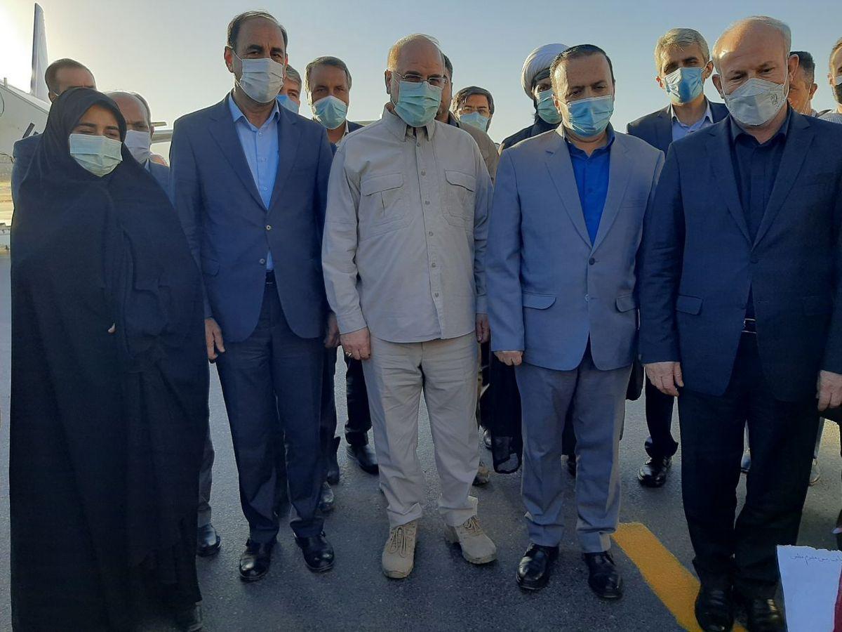 رئیس مجلس شورای اسلامی به ایلام آمد
