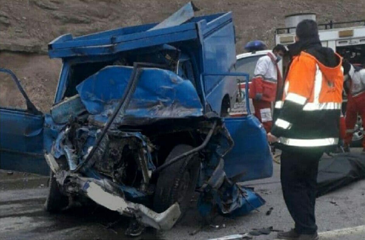 حادثه رانندگی در اردبیل یک کشته و 6 مصدوم برجای گذاشت