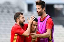 مدافع تیم ملی فوتبال اسپانیا از «پدرو» دفاع کرد