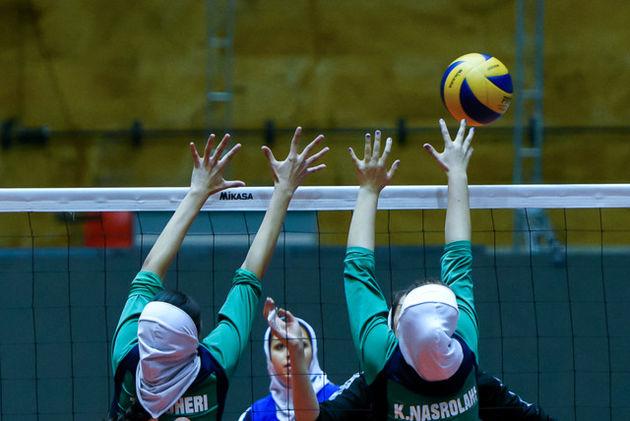 همگروهی والیبال بانوان ایران با مالدیو و استرالیا در دور دوم