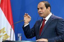 السیسی آشتی با اخوان المسلمین را موکول به نظر مردم دانست