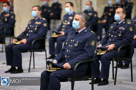 دیدار فرماندهان و کارکنان نیروی هوایی ارتش با رهبر انقلاب