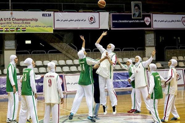 برگزاری اردوی تیم ملی بسکتبال بانوان نوجوانان ایران در نکا