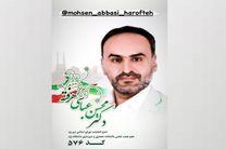 محسن عباسی هرفته، داوطلب انتخابات شورای ششم شهر یزد را بشناسیم