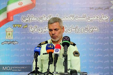سردار محمد شرفی رییس پلیس پیشگیری نیروی انتظامی