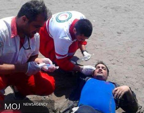 سانحه دریایی در بابلسر پنج زخمی برجای گذاشت
