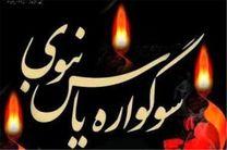 ویژه برنامه سوگواره یاس نبوی در یادمان شهدای نجف آباد برگزار می شود