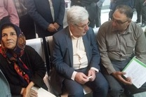 بازدید نوربخش از شعبه ٥ تأمین اجتماعی شیراز در دومین روز از هفته تأمین اجتماعی