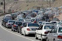 ترافیک نیمه سنگین در محورهای شمالی / مسافران بازگشت را به امروز موکول نکنند